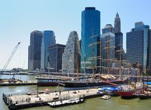 South Street Seaport Stock Photography