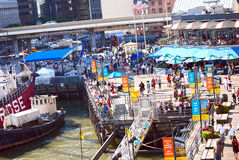 South Street Seaport Stock Image