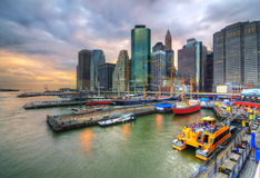 South Street Seaport Royalty Free Stock Photography
