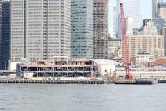 South Street Seaport Demolition Royalty Free Stock Photos