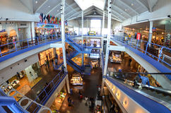 South Street Seaport Mall Shops Stock Image