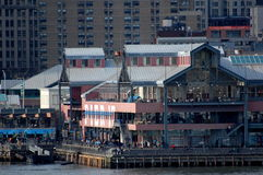 South Street Seaport, New York City Stock Photo