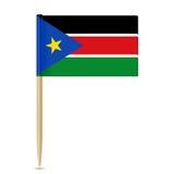 South Sudan flag toothpick 10eps Royalty Free Stock Photos