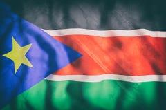 South Sudan flag waving Royalty Free Stock Image