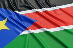 South Sudan flag Royalty Free Stock Photos