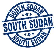 South Sudan stamp Royalty Free Stock Images
