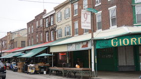 South 9th Street Italian Market in Philadelphia royalty free stock photography