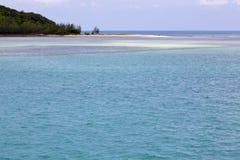 South   thailand kho  coastline of a green lagoon and tree Royalty Free Stock Photos