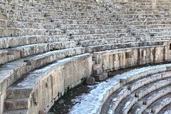 The South Theater, Jerash Royalty Free Stock Images