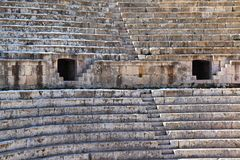 The South Theater, Jerash Stock Photo