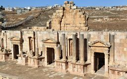 The South Theater, Jerash Royalty Free Stock Photography