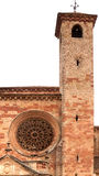 South tower of Siguenza Cathedral. Stock Photography