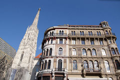 South tower of St. Stephan's Cathedral in Vienna, Austria Stock Photography