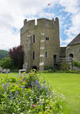 The South Tower at Stokesay Castle Stock Images