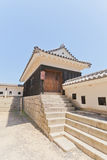South Turret of Third Gate of Matsuyama castle, Japan Royalty Free Stock Image