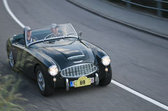 South tyrol classic cars_Austin Healey 3000 MK I Royalty Free Stock Photo