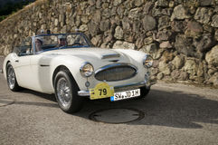 South tyrol classic cars_2014_Austin HEALY MK 2 BJ 7 Royalty Free Stock Image