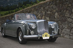 South tyrol classic cars_2014_Bentley S1_2 Royalty Free Stock Photography