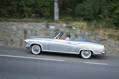 South tyrol classic cars_BORGWARD Isabella Royalty Free Stock Image