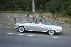 South tyrol classic cars_BORGWARD Isabella Royalty Free Stock Image