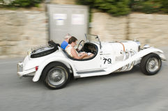 South tyrol classic cars_EXCALIBUR Roadster SS side Stock Photography