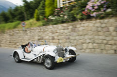 South tyrol classic cars_EXCALIBUR Roadster SS Stock Image