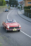 South tyrol classic cars_FIAT PININFARINA SPIDER Stock Photo