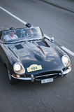 South tyrol classic cars_JAGUAR E- Type Coupe S1 Stock Photos
