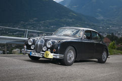 South tyrol classic cars_2014_Jaguar MK 2 Royalty Free Stock Image