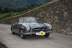 South tyrol classic cars_2014_Mercedes Benz 190 SL Stock Image