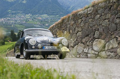 South tyrol classic cars_2014_Porsche 356_1 Royalty Free Stock Photo