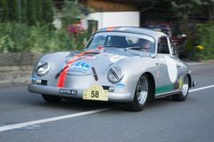 South tyrol classic cars_Porsche 356A Royalty Free Stock Images