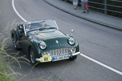 South tyrol classic cars_TRIUMPH TR 3 B Royalty Free Stock Photo