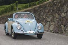 South tyrol classic cars_2014_VW Beetle Oviali Stock Photo
