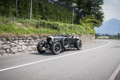 South Tyrol Rallye 2016_Bentley 4-5 Liter Open_front Royalty Free Stock Images