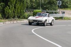 South Tyrol Rallye 2016_Chevrolet Corvette Sting Ray Stock Photos