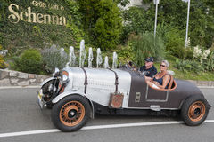 South Tyrol Rallye 2016_Rover P2 Spezial 16 HP_front Stock Photography