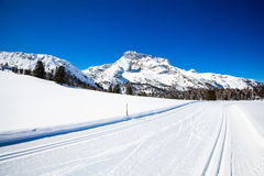 South Tyrol in winter Stock Photo