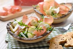 South Tyrolean salad royalty free stock photos