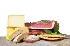 South Tyrolean specialties royalty free stock image