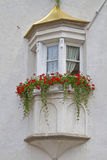 South Tyrolean town house details Stock Photography
