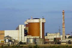 South ukraine nulear power station. Ukrainian nuclear power station in Mykolaiv region Royalty Free Stock Images