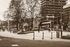 South view of Redevelop City Centre in Bristol stock photography