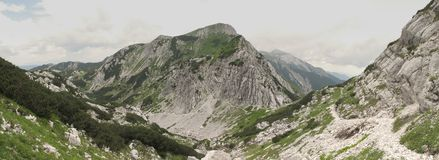 South view from Vogel - Triglav national park Royalty Free Stock Photos