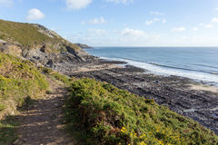 South Wales Coast Path Royalty Free Stock Images