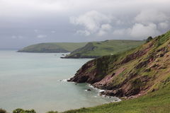 South West coast of England in Devon Stock Images