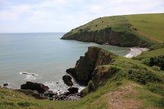 South West coast of England in Devon Stock Photos