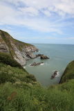 South West coast of England in Devon Royalty Free Stock Photography