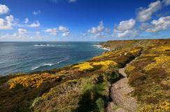 South West Coast Path Royalty Free Stock Image