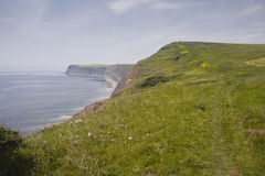South West Coast Path Royalty Free Stock Photo